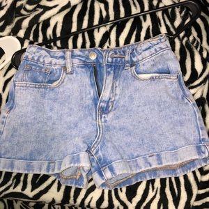 pacsun jeans shorts